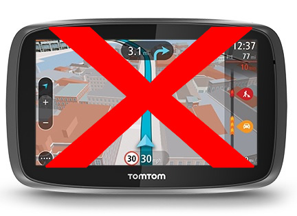 TOMTOM G0 is A NO GO - Fails to update