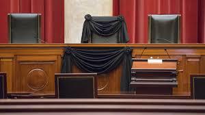 Scalia Justice Draped