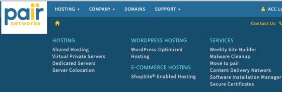 pair hosting