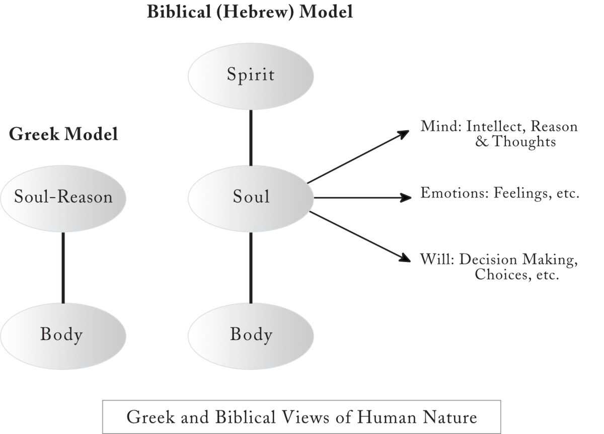 Greek vs Hebrew view of Human Nature, anthropology